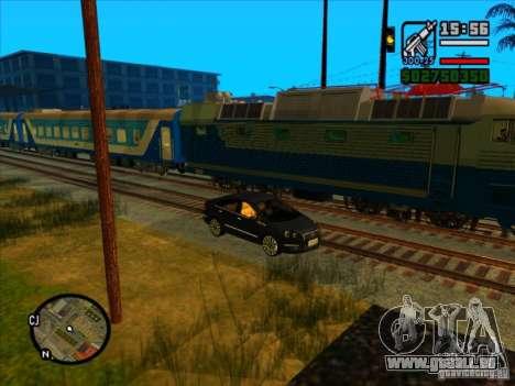 Long train pour GTA San Andreas sixième écran