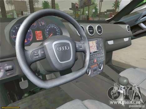Audi TT Custom für GTA San Andreas Rückansicht