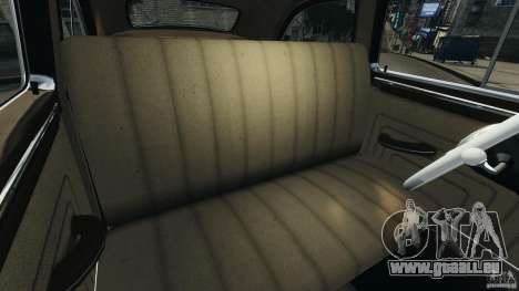 Packard Eight Police 1948 für GTA 4 Innenansicht