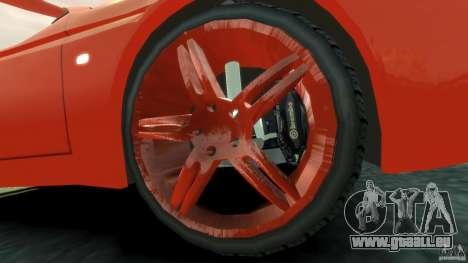 Alfa Romeo GTV Spider pour GTA 4 est une vue de l'intérieur