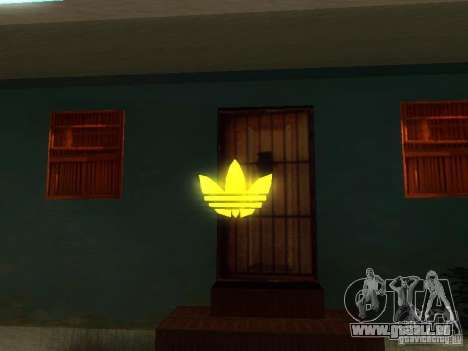 Adidas Logo für GTA San Andreas dritten Screenshot