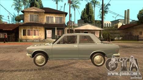 Datsun 510 pour GTA San Andreas laissé vue
