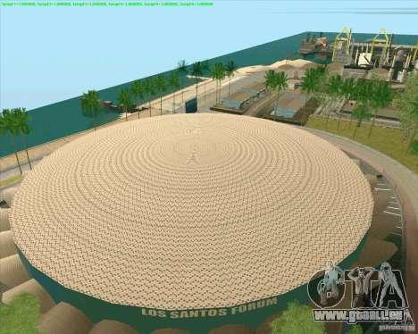 Nouvelles textures Los Santos Forum de stade pour GTA San Andreas troisième écran