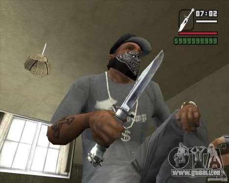 Das Messer von der Stalker Nr. 3 für GTA San Andreas