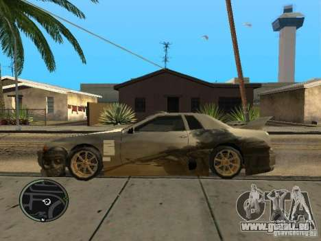 Fantôme vynyl pour Elegy pour GTA San Andreas laissé vue