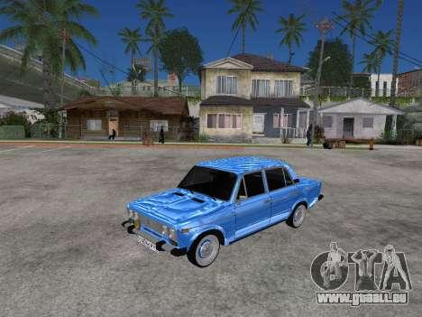 VAZ 2106 rétro V2 pour GTA San Andreas laissé vue