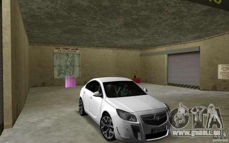 Opel Insignia pour GTA Vice City vue arrière