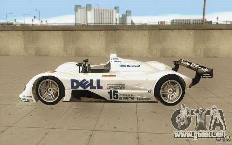 BMW V12 LeMans - Stock für GTA San Andreas linke Ansicht