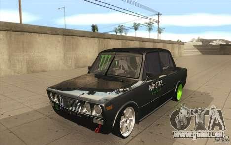L'écoute de Drift Lada VAZ 2106 pour GTA San Andreas