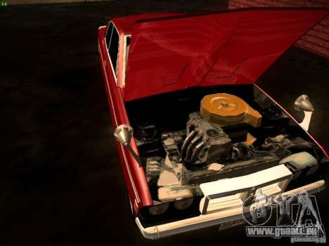 Mitsubishi Galant GTO-MR für GTA San Andreas Rückansicht