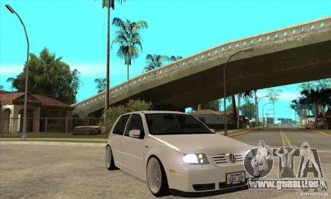 VW Golf 4 V6 Bolf pour GTA San Andreas vue arrière