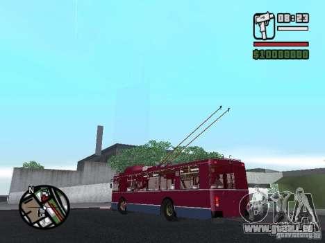 ZIU 682GM 1 pour GTA San Andreas vue intérieure