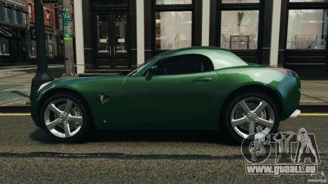 Pontiac Solstice 2009 pour GTA 4 est une gauche