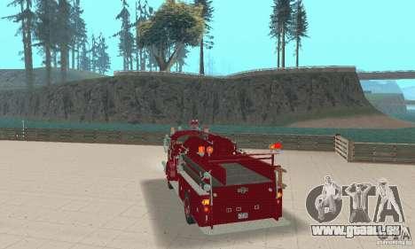 American LaFrance Pumper 1960 für GTA San Andreas linke Ansicht