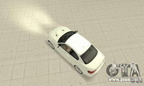 BMW M3 2008 Convertible Hamann für GTA San Andreas zurück linke Ansicht