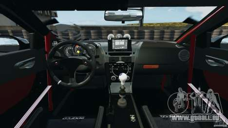Mazda RX-8 Mad Mike für GTA 4 Rückansicht