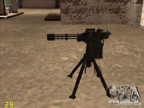 Turrel′ pour GTA San Andreas troisième écran