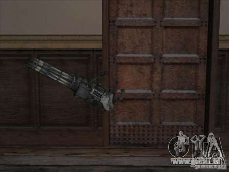 Minigun de Gears of War pour GTA San Andreas