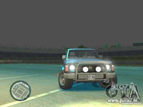 Nissan Safari 1992 pour GTA 4 est un droit