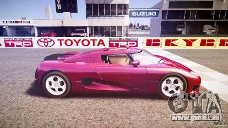 Koenigsegg CC8S 2002 pour GTA 4 est une gauche