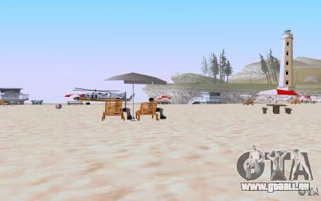 Reality Beach v2 für GTA San Andreas