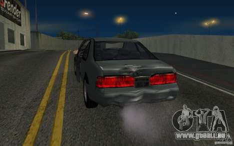 Ford Thunderbird 1993 für GTA San Andreas Rückansicht