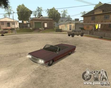 Extreme Car Mod (Single Player) pour GTA San Andreas troisième écran