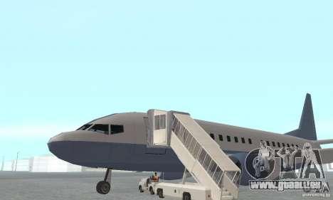 Airport Vehicle pour GTA San Andreas quatrième écran