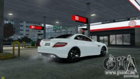 Mercedes-Benz SLK55 R172 AMG 2011 v1.0 pour GTA 4 Vue arrière de la gauche