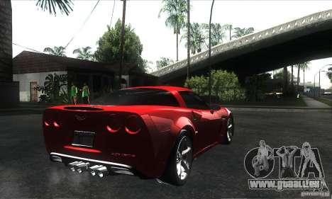 Chevrolet Corvette Grand Sport 2010 für GTA San Andreas Räder