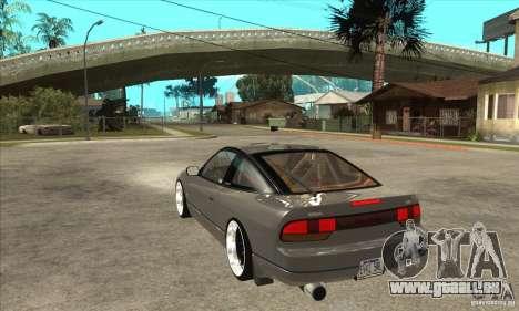 Nissan Silvia S15 1999 pour GTA San Andreas sur la vue arrière gauche