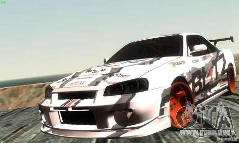 Nissan Skyline R34 Blitz pour GTA San Andreas