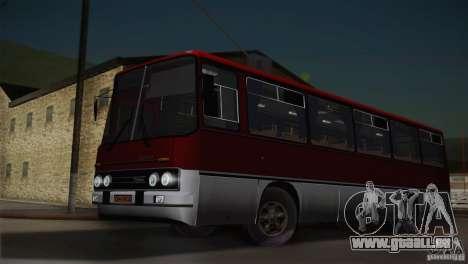 IKARUS 255.01 pour GTA San Andreas sur la vue arrière gauche