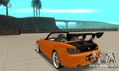 Honda Amuse R1 AP1 S2000 für GTA San Andreas zurück linke Ansicht