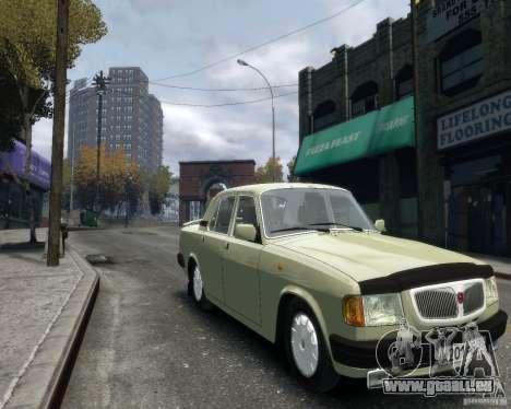 Volga gaz 3110 pour GTA 4 Vue arrière