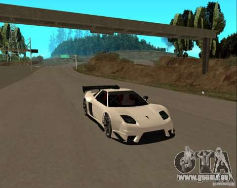 Acura NSX Sumiyaka pour GTA San Andreas