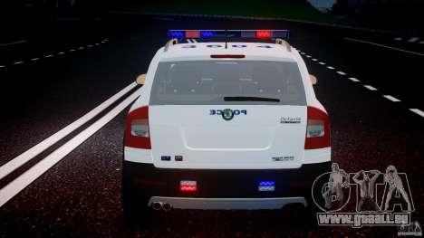 Skoda Octavia Scout NYPD [ELS] pour le moteur de GTA 4