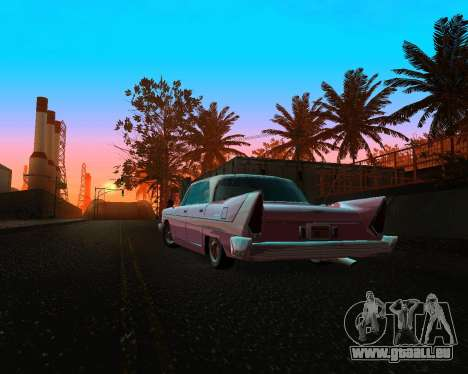 Plymouth Belvedere für GTA San Andreas Rückansicht