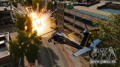 Un hélicoptère avec un RPG pour GTA 4