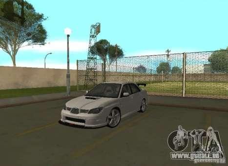 Subaru Impreza WRX STI-Street Racing für GTA San Andreas Innen