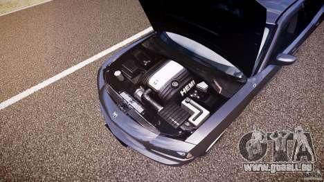 Dodge Charger RT Hemi 2007 Wh 1 für GTA 4 Unteransicht