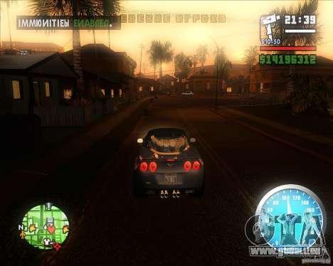 MadDriver s ENB v.3.1 pour GTA San Andreas troisième écran