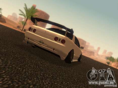 Nissan Skyline GTS R32 JDM pour GTA San Andreas laissé vue