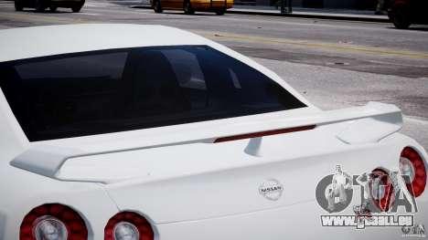 Nissan Skyline GT-R R35 pour GTA 4 est une vue de dessous