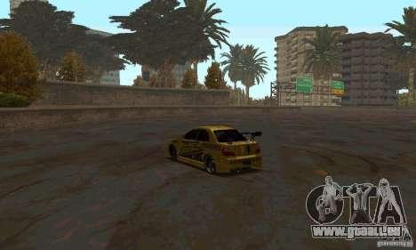 NFS Most Wanted - Paradise pour GTA San Andreas neuvième écran