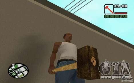Marteau et la faucille pour GTA San Andreas quatrième écran