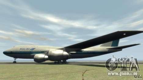 Boening 747-400 Kras Air für GTA 4 linke Ansicht