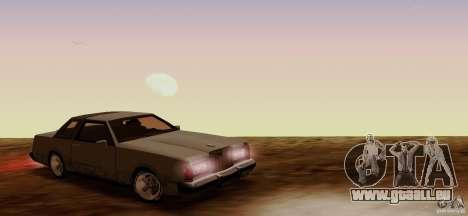 Virgo Continental pour GTA San Andreas vue de droite
