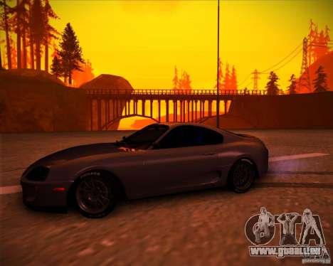 Toyota Supra SHE pour GTA San Andreas laissé vue