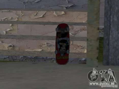 Patinage pour GTA SA pour GTA San Andreas deuxième écran